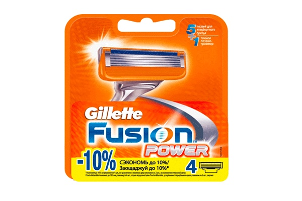 Gillette Fusion Power,  4 шт