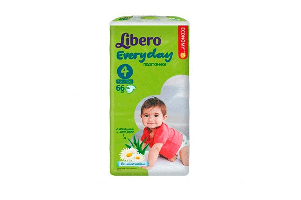 Libero Every Day Maxi-4 7-18 ��, 66 ��