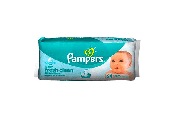 Pampers Baby Fresh Clean, 64 ��