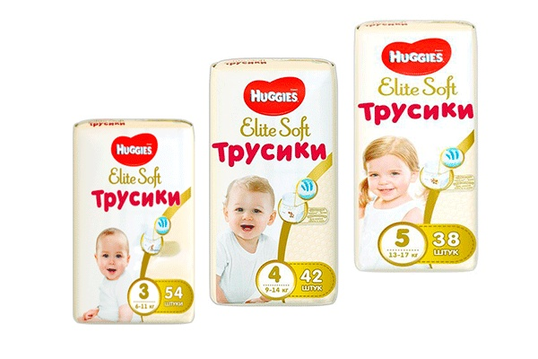 Трусики Huggies Elite Soft