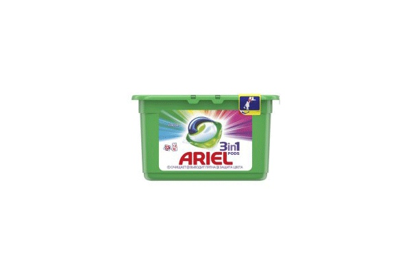 Karlson.by - Капсулы для стирки: Ariel Pods Color 3в1, 18 шт по 27 гр
