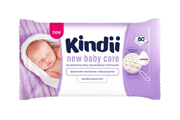 Karlson.by - Влажные салфетки: Cleanic New Baby Care, 60 шт