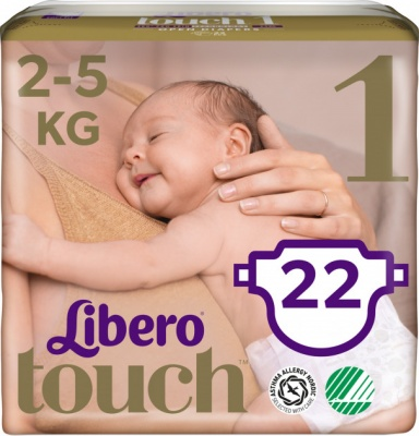 Karlson.by - : Libero Touch 1 (2-5кг) 22шт