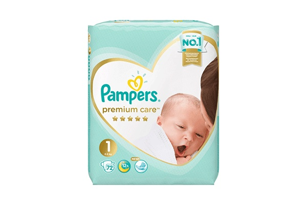 Karlson.by - Подгузники: Pampers Premium Care-1 2-5 кг, 72 шт