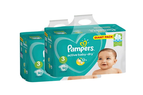 Karlson.by - Подгузники: Pampers Active Baby-Dry-3 6-10 кг, 2х90 = 180 шт