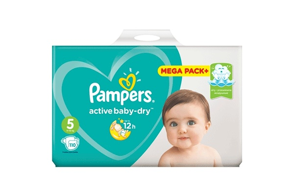 Karlson.by - Подгузники: Pampers Active Baby-Dry Junior-5 11-18 кг, 110 шт