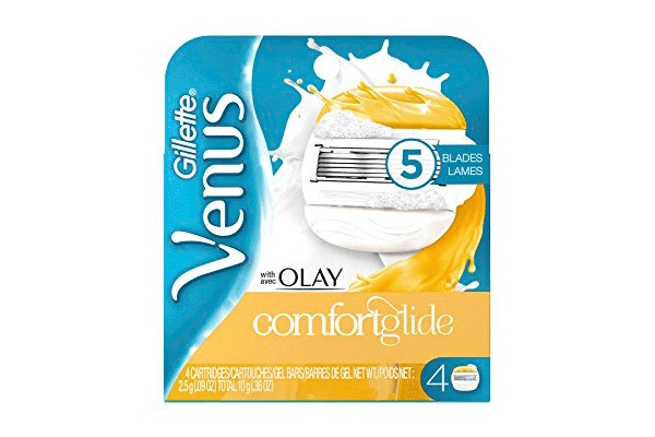 Gillette Venus&Olay ComfortGlide, 4 шт