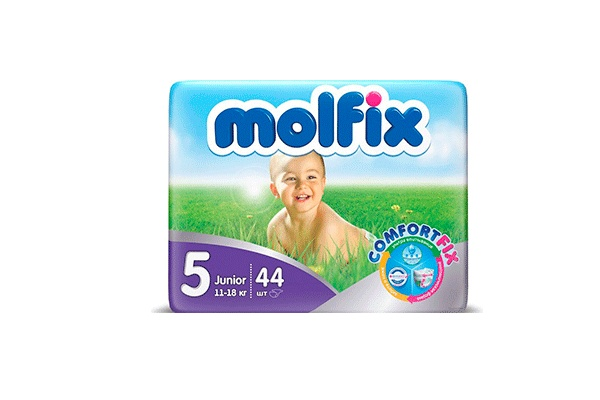 Karlson.by - Подгузники: Molfix Junior-5 11-18 кг, 44 шт