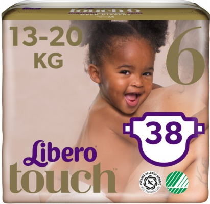 Karlson.by - : Libero Touch 6 (13-20кг) 38шт