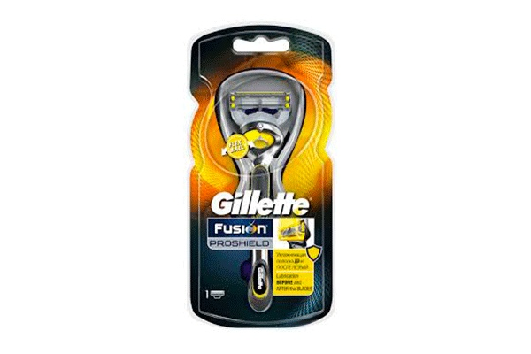 Karlson.by - Станок для бритья: Gillette Fusion ProShield + 1 кассета