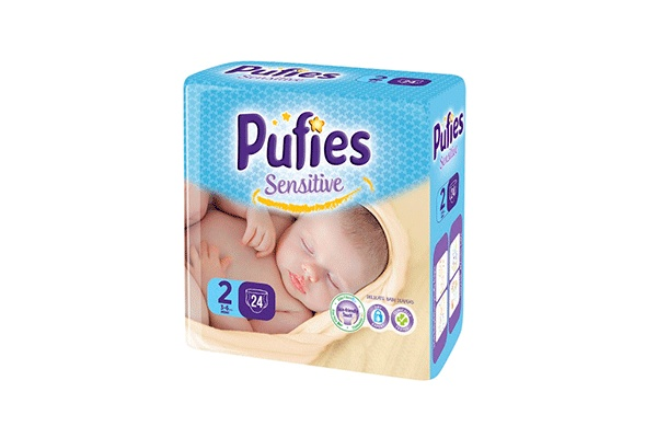 Karlson.by - Подгузники: Pufies Sensitive Mini-2 3-6 кг, 24 шт